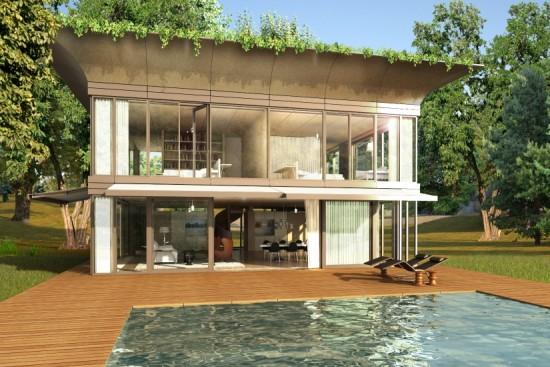 Casas ecol gicas prefabricadas para europa - Casas modulares de lujo ...