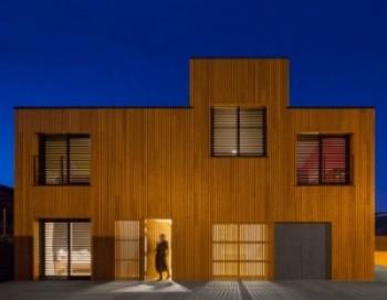 Una original vivienda modular en cuenca - Casas prefabricadas cuenca ...