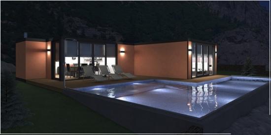 Precios y fabricantes de casas prefabricadas en espa a y - Steel framing espana ...