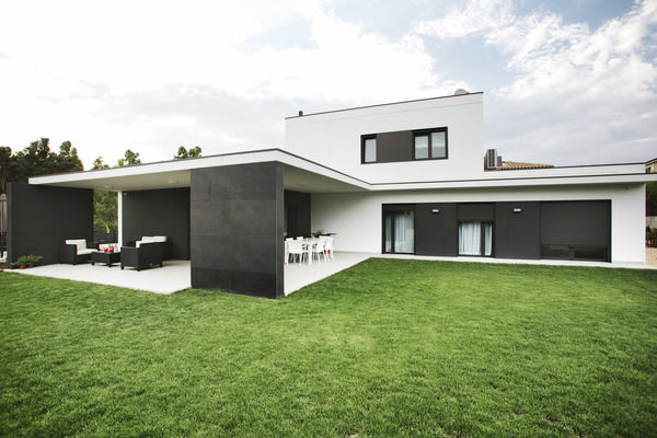Acogedoras casas prefabricadas de dise o contemporaneo for Casas prefabricadas galicia