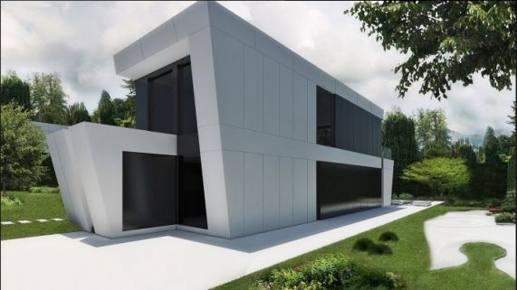 Los precios de las casas prefabricadas de joaquin torres for Casas modulares minimalistas