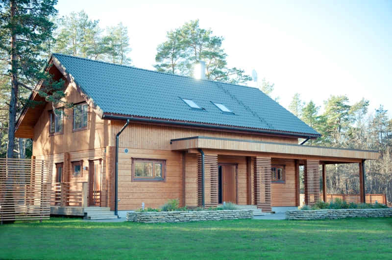 Casas de madera americanas de acero y mucho m s - Casas de madera y mas ...