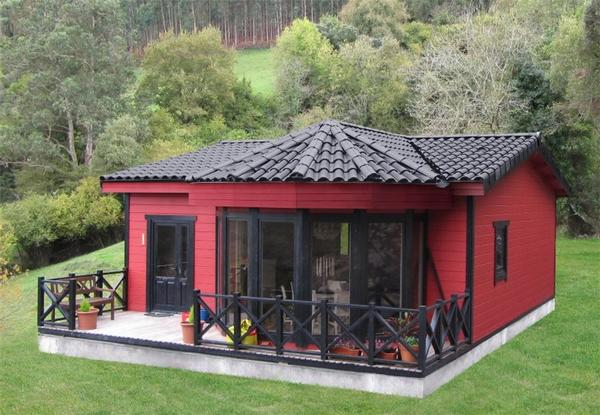 Casas y casetas de madera baratas desde for Casetas de madera para jardin baratas