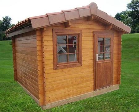 Casas y casetas de madera baratas desde for Casetas jardin baratas