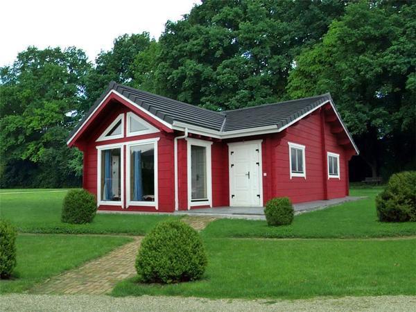 Casas y casetas de madera baratas desde for Casas con piscina baratas barcelona