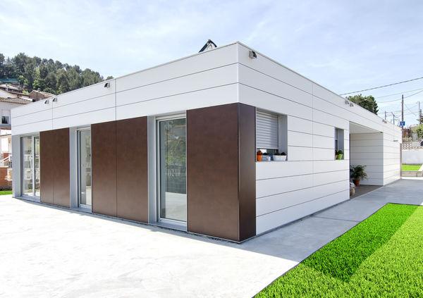 Smart homes casas modulares con fachada ventilada - Casas prefabricadas calidad ...